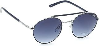 IDEE Metal Round Blue Unisex Sunglasses