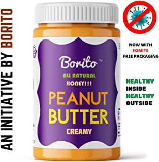 Borito All Natural Honey Creamy Peanut Butter