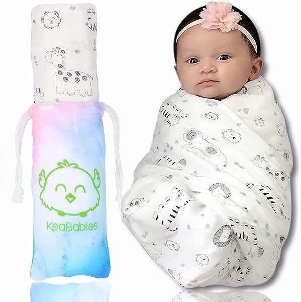 Bamboo Baby Swaddle Blanket Organic Bamboo Swaddle Blankets For Boys And Girls Swaddling Blankets Baby Receiving Blankets For Babies Newborns Baby Registry KeaSafari