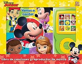 Disney Junior Mickey Mouse, Minnie y más!- ¡Vamos a cantar! - Libro de canciones y reproductor de musica - Let's Sing! Sound Book with Music Player - PI Kids (Spanish Edition)
