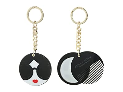 Alice + Olivia Mirror Comb Key Charm (Stacey Face) Wallet