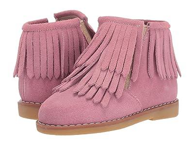 Elephantito Triple Fringes Suede Bootie (Toddler/Little Kid/Big Kid) (Pink) Girl