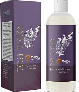 Tea Tree Oil Shampoo Sulfate Free - Cleansing Tea Tree Shampoo Scalp Exfoliator and Dry Scalp Shampoo for Scalp Care - Dai...
