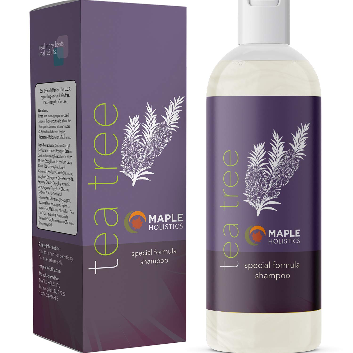 Pure Tree Shampoo Anti Dandruff Anti Bacterial