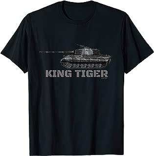 king tiger tank t shirts