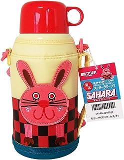 TIGER 虎牌 儿童型不锈钢真空保温杯MBJ-A06C-ER小兔子600ML 保温保冷杯 杯?#19988;?#29992;