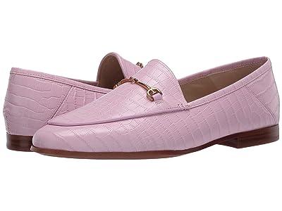 Sam Edelman Loraine Loafer (Deco Pink Kenya Croco Leather) Women