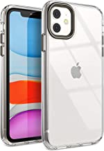 YOUMAKER Stylish Crystal Clear Case for iPhone 11,...