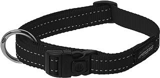 Rogz Reflective Dog Collar, Black X-Large