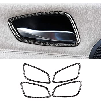 LLKUANG Soft Carbon Fiber for BMW 3 Series E90 E92 E93 2005-2012 Car Center Console Gear Shift Panel Stickers Trim Left Drive