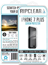Ripclear for iPhone 7 Plus Screen Protector Kit Unbreakable - Scratch-Resistant, All-Weather Protection, Crystal Clear - 2-Pack