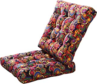 youta Solid Papasan Patio Seat Cushion Square Chair Pad Home Floor Cushion 22 Inch Set of 2 Throw Pillows Indoor/Outdoor Print Flower