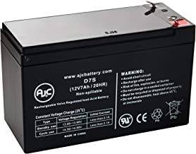 CP550SL 12V 7.5Ah UPS Battery - This is an AJC Brand Replacement