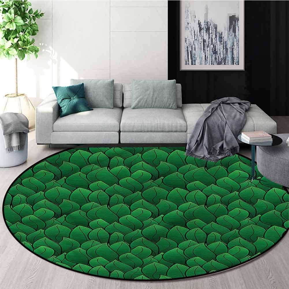 RUGSMAT Green Warm Soft Max 42% OFF Cotton Luxury Plush Rugs famous Cartoon St Baby