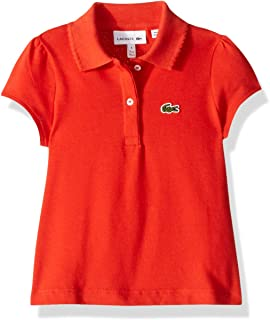 Lacoste Girl Short Sleeve Mini Pique New Iconic Polo