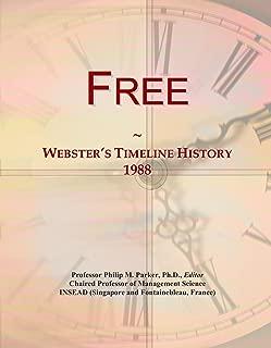 Free: Webster's Timeline History, 1988