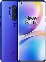 "Teléfono OnePlus 8 Pro Azul Ultramarino | 6.78"" Pantalla Fluid AMOLED 3D a 120Hz  | 12GB de RAM + 256GB de Almacenamiento | Quad Cámara | Carga Rápida Inalámbrica | Dual Sim | 5G | 2 Años de Garantía"