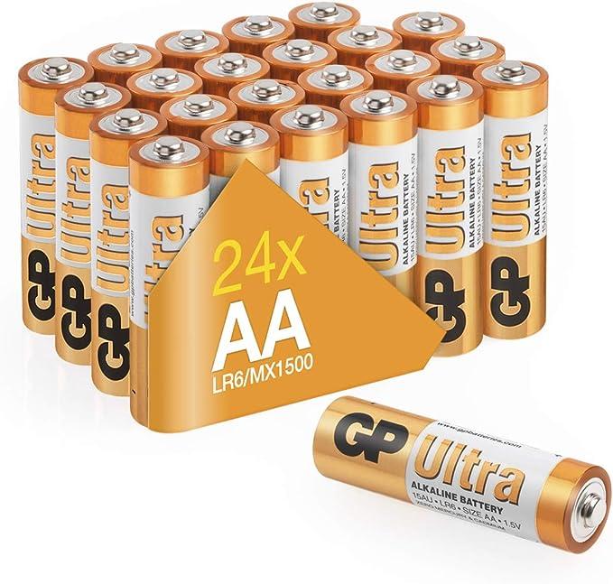 Gp Ultra Alkaline Aa Batteries Suitable For All Elektronik