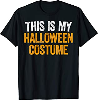 this is my halloween costume shirt