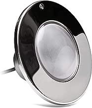 Halco Lighting Corp. LPLF5W12100P PureWhite LED Pool Light 12V 100' FT Cord Polished