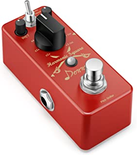 Donner Digital Octave Guitar Effect Pedal Harmonic Square...