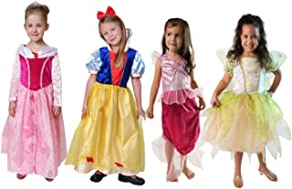 Classic Storybook Princess Dress 4 Pack Set (Choose Style)