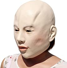PartyHop - Lady Mask - Halloween Latex Female Beauty Mask
