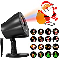 1byone 8in1 Auto-Shifting Images & Pattern Christmas Light Projector