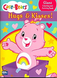 96 Pages Lazy Days Care Bears Cheer Bear Coloring and Activity Book