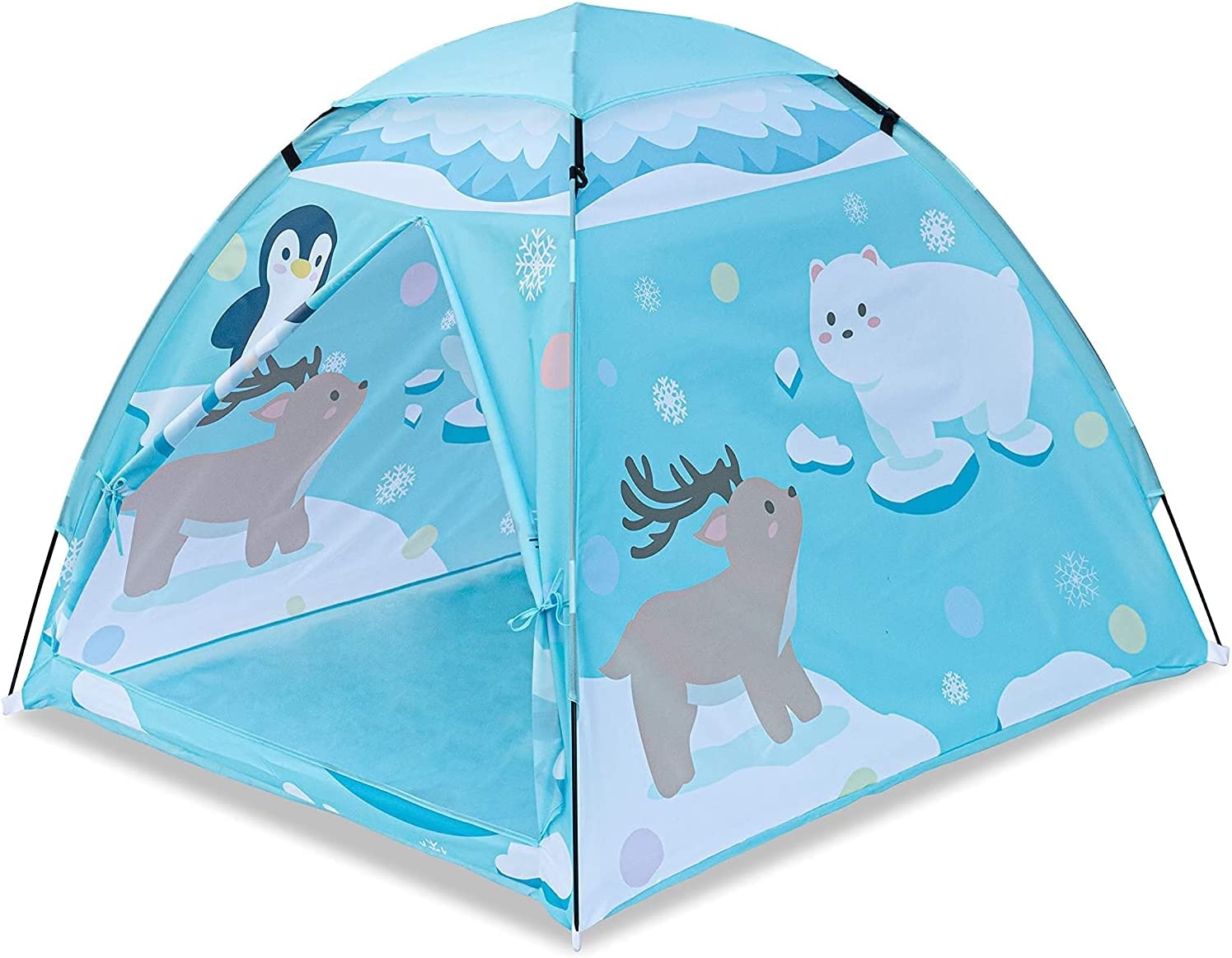 CloverCat Play Tent for Kids Super special price Direct stock discount fo Pop-Up Playhouse Indoor Outdoor
