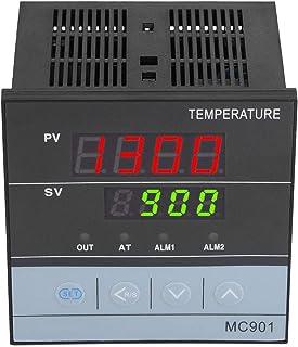 Przełącznik temperatury PID przekaźnik/wyjście SSR Cyfrowy regulator temperatury, uniwersalne wejście MC901 do wysoce prec...