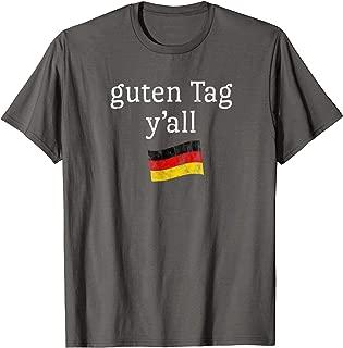 Oktoberfest Costume T Shirt Funny Outfit Texas German Flag