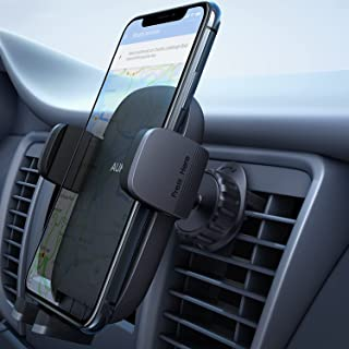 AUKEY Car Phone Holder【Upgraded Never Fall Hook Clip 2021】 Air Vent Car Phone Mount, Universal Cell Phone Holder for Car Compatible with iPhone 12 Pro Max/11 Pro Max/11 Pro/X/, S10+ and More