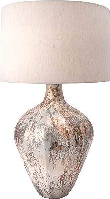 Collective Design L28159dsam Allen French Oak White Table Lamp
