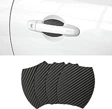 Door Handle Trim Magnetic Door Cup Paint Scratch Protector Cover Accessories for Subaru BRZ(4 Pcs)