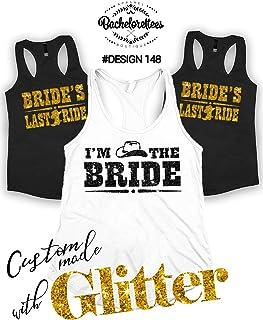 Bride s Last Ride Tank Tops - Bachelorette Party Shirts - Wedding Tanks -  Bachelorette Party Tee 9151d4ba8ca3