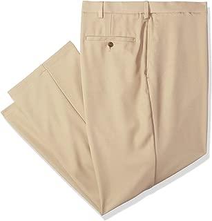 Haggar Men's B&t Cool 18 Pro Classic Fit Flat Front Pant