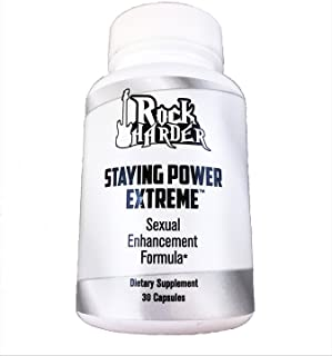 Rock Harder Staying Power Extreme Male Enhancement Pills