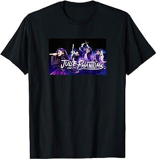 Julie And The Phantoms Purple Smoke Group Shot T-Shirt