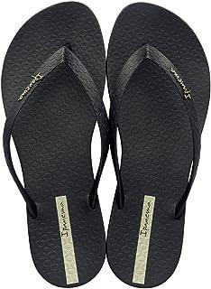 Ipanema Womens Classica Wave FEM Flip Flops/Sandals-Black