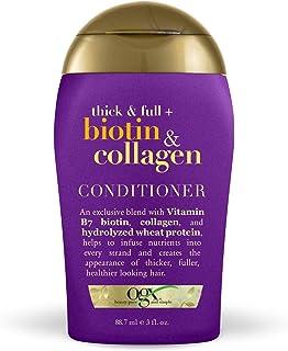 OGX Shampoo denso e completo di biotina e collagene, 3 once di OGX