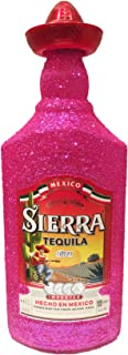Sierra Tequila Silver 70cl 35% Vol - Bling Glitzerflasche Extreme Pink