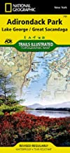 Lake George, Great Sacandaga: Adirondack Park (National Geographic Trails Illustrated Map (743))