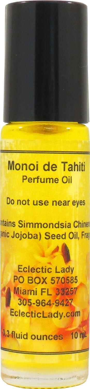Monoi de Tahiti Very popular Perfume Oil Small - Jojoba On Organic Dealing full price reduction Roll