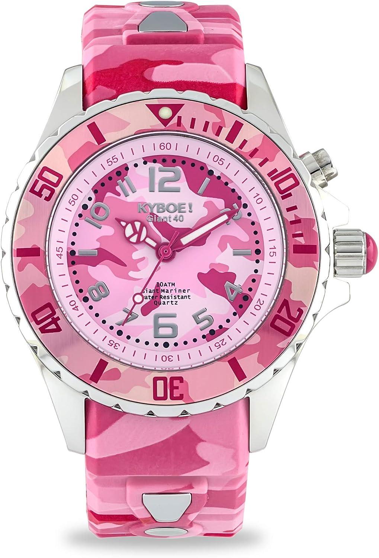 Kyboe. Reloj de Camuflaje de Bosque 40mm