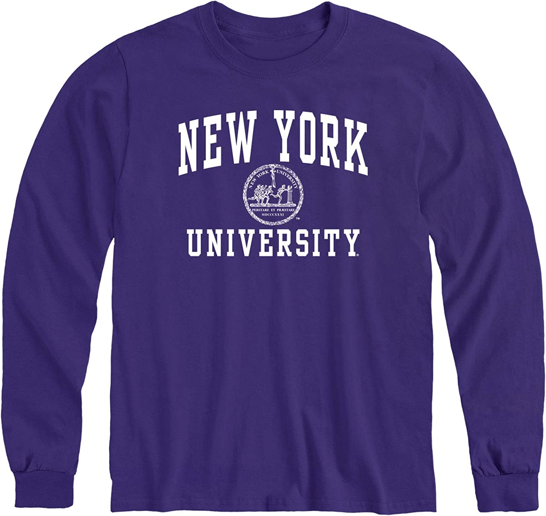 Ivysport Long Sleeve Cotton Adult T-Shirt, Unisex, Heritage Logo, Color
