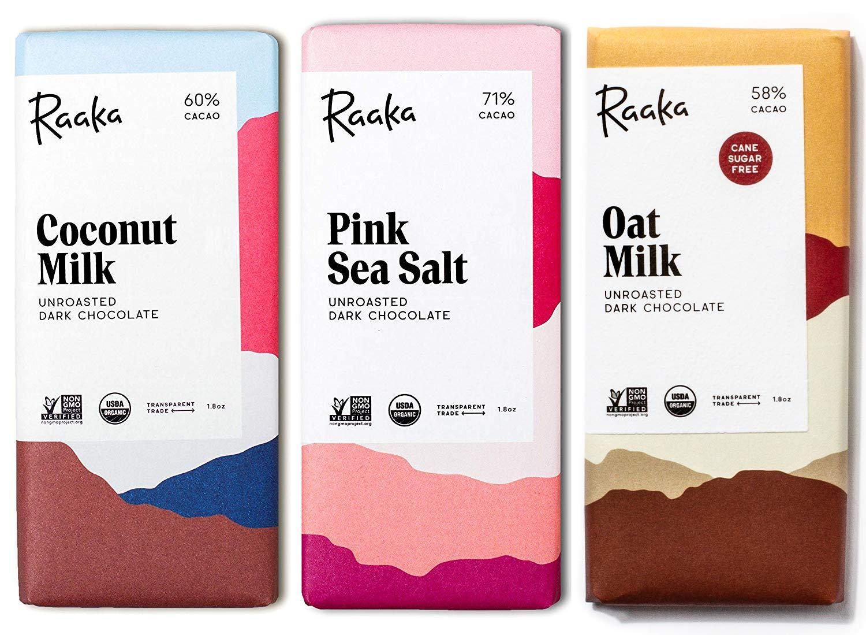 Max 45% OFF Raaka Chocolate Dairy-Free Pack Bean-to-Bar Dark Gourmet Choco Topics on TV