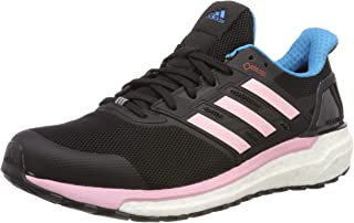adidas Womens Supernova Gore-Tex Running Shoes in Black.