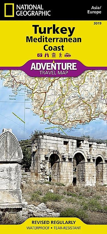 Turkey: Mediterranean Coast (National Geographic Adventure Map)