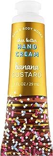 Bath and Body Works BANANA CUSTARD Shea Butter Hand Cream 1.0 Fluid Ounce (2019 Holiday Edition)